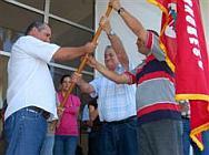Abanderan delegación villaclareña al Congreso de la ANAP