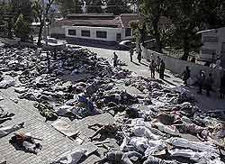 Haití: confirmados más de 70 mil muertos