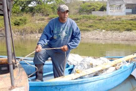 Kiki, un pescador con agallas